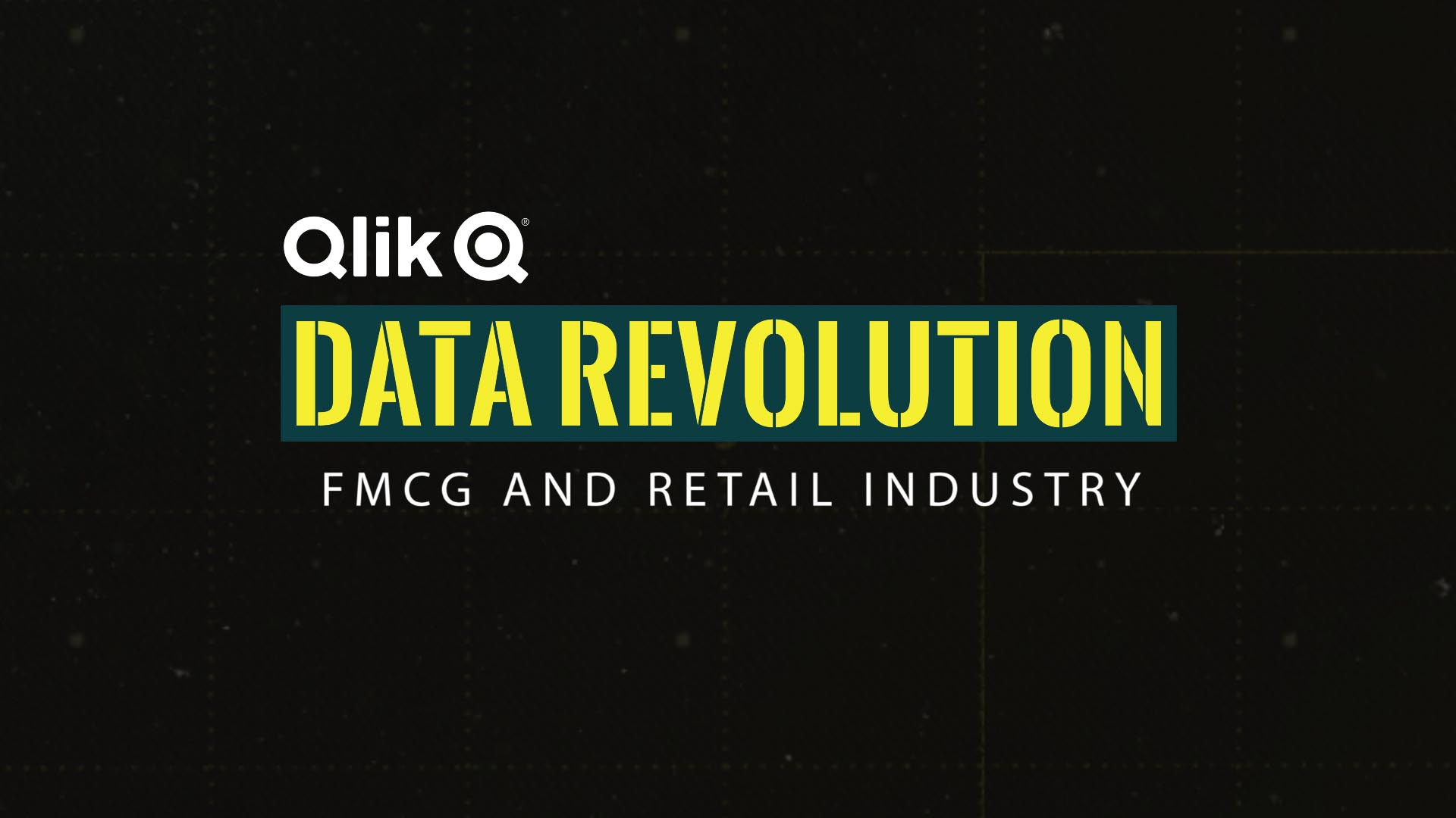 Qlik for FMCG/Retail