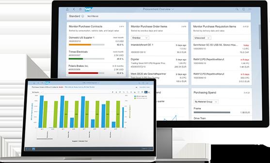 TallyMarks SAP S4 HANA dashboard