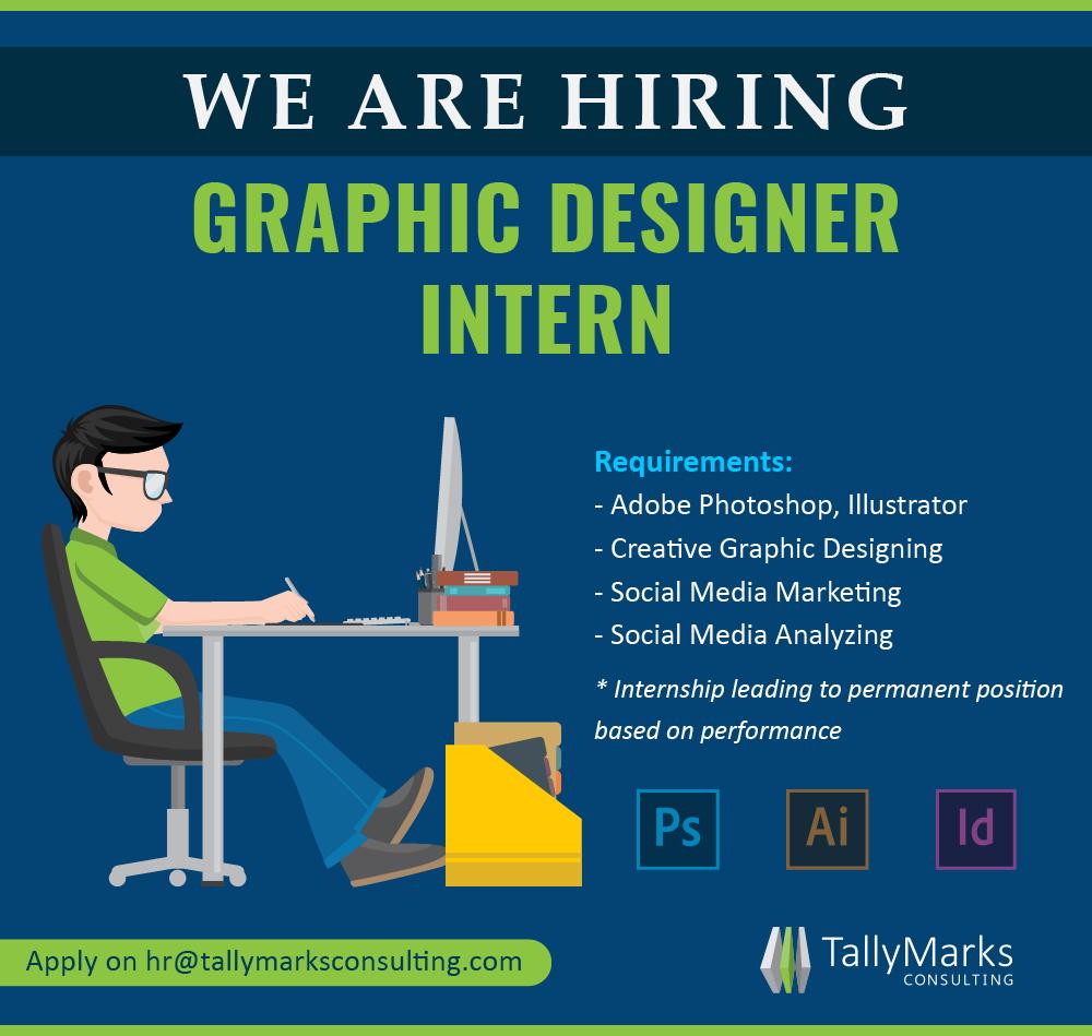 Graphic Designer Internship Job Posting