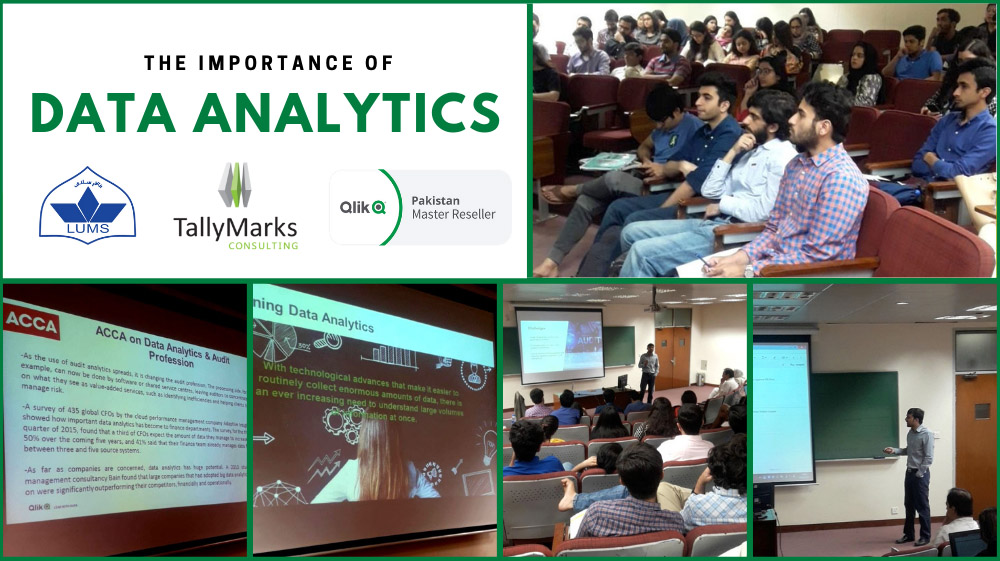 Qlik data analytics at Suleman Dawood School of Business (SDCB) LUMS
