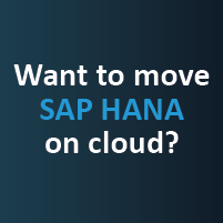 Want to move to sap hana