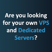 vps and dedicated servers